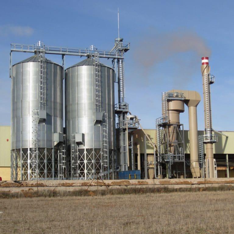Plantas de produccion de pellets Apisa