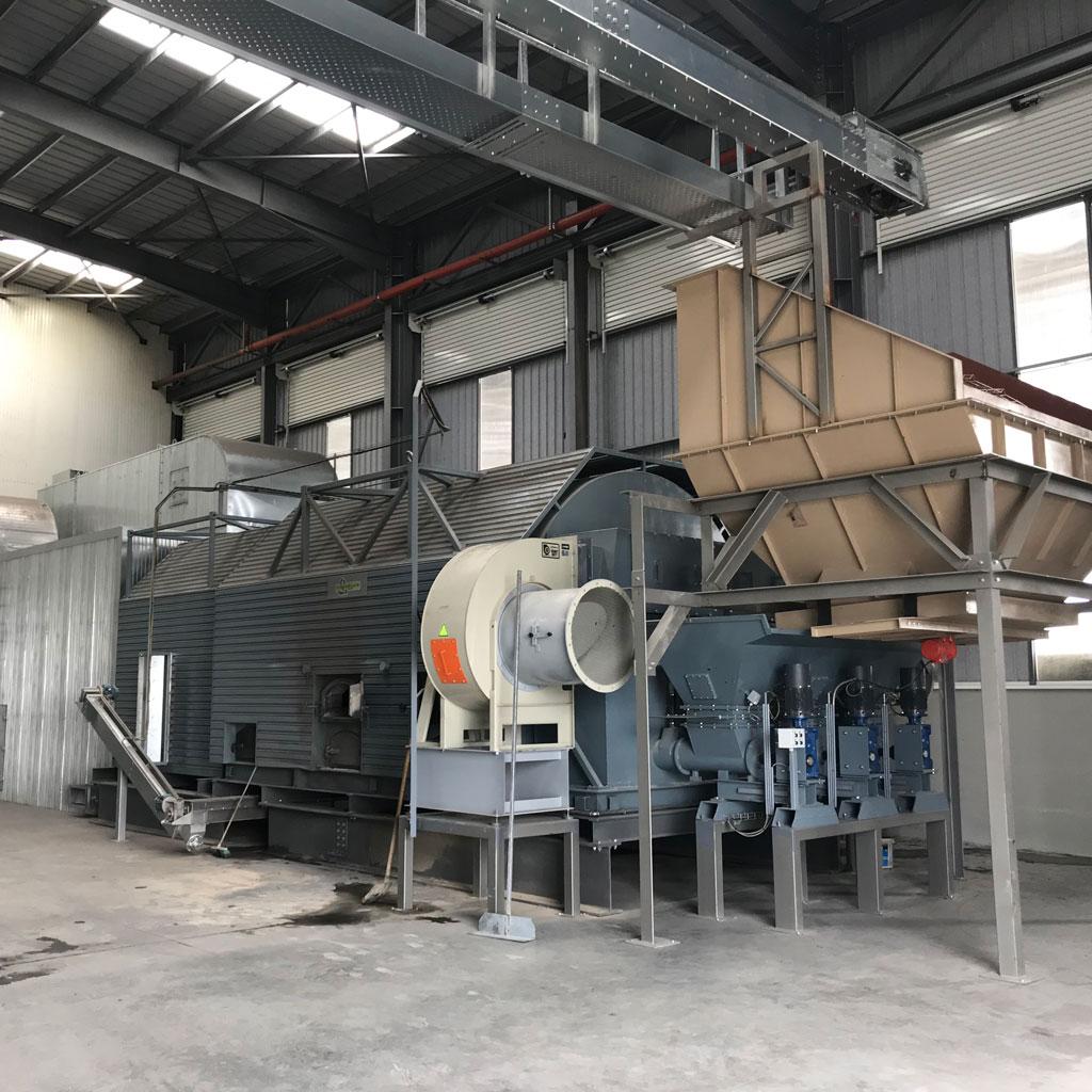 generador de aire caliente apisa