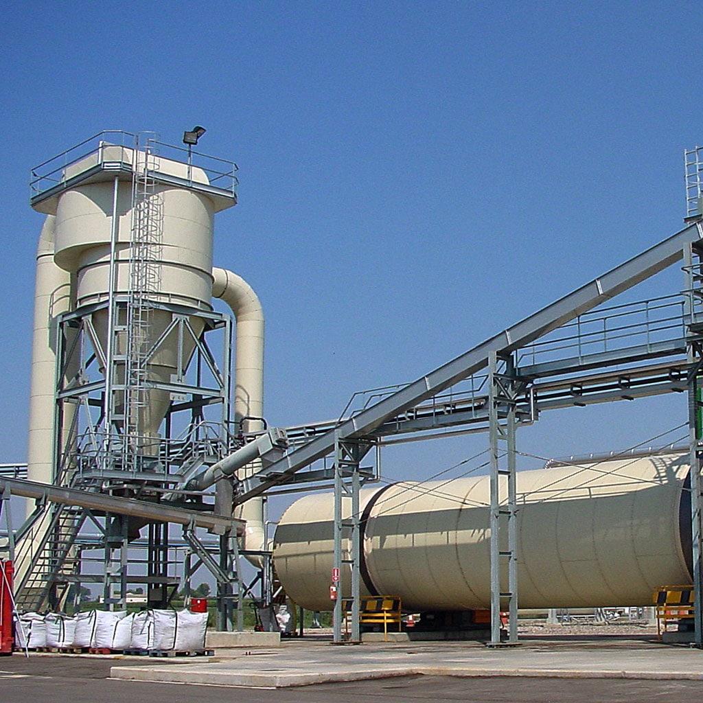 secadores industriales de residuos